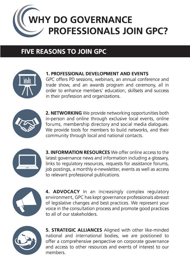 GPC: Governance Matters